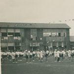 昭和初期の加計塚小学校の写真
