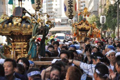 【前篇】日本の心粋!渋谷氷川神社例大祭2012取材!