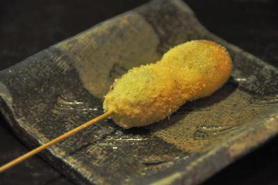 恵比寿で昭和54年からある老舗の串揚げ「串竹」