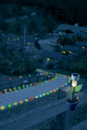 恵比寿から陸前高田仮設住宅を燈すプロジェクト