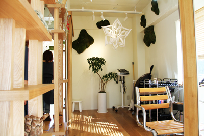 自然と共生する美容室SABO