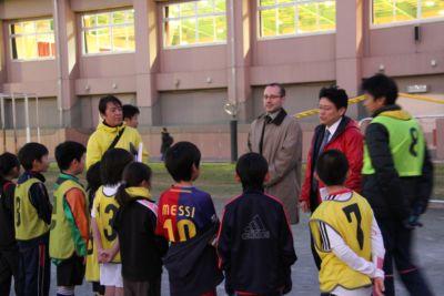 スポーツの街恵比寿で開催されている国際交流型サッカー