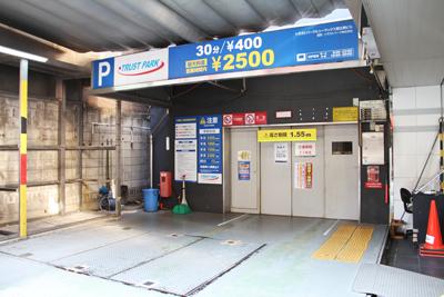 何故か急に恵比寿にある駐車場をMAP化してみた。