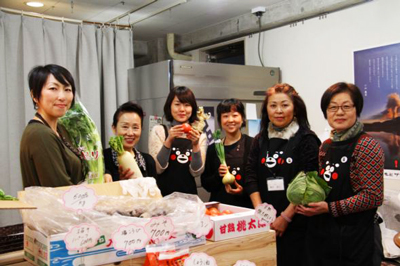 恵比寿で熊本マルシェが開店