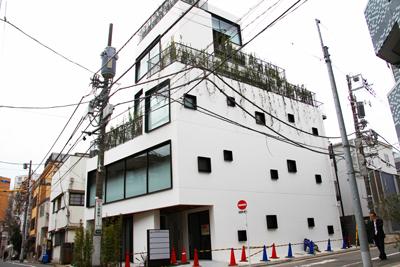 恵比寿新聞先取り物件情報「テラスだらけのシャレオツビル」