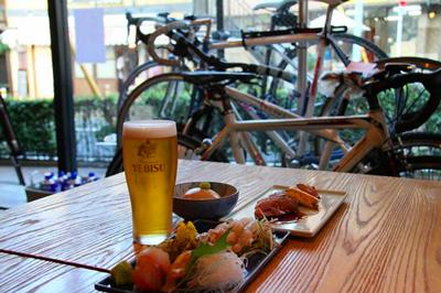 和食と自転車のお店「恵比寿坂」ってなにそれすごい