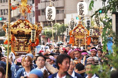 今年も!氷川神社例大祭2013が始まります!!
