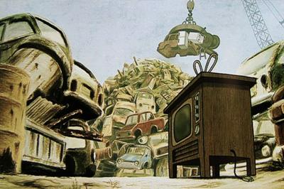 【後編】恵比寿のROBOTが贈る新作短編アニメーション「ゴールデンタイム」