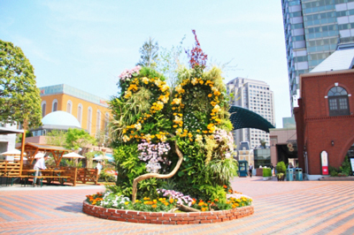 恵比寿ガーデンプレイス20周年を記念した「ドリームガーデン」が素晴らしくガーデンしてる。