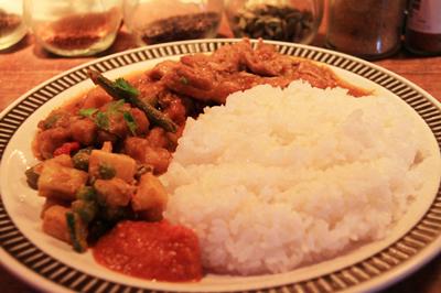 恵比寿の老舗 本場ネパール料理「ソルティーモード」の名物ダル・バートを食す
