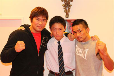 恵比寿の鉢山中学の職業体験で小比類巻道場にて格闘家を夢見た14歳が職場体験