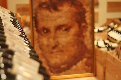 恵比寿La Vinéeのソムリエさんのコルクで作るモザイクアートに大注目