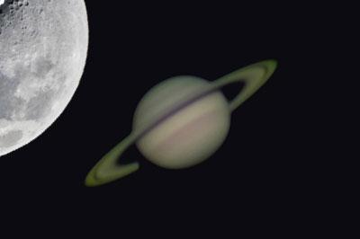 恵比寿で星の観測!?月と土星の天体観望@恵比寿ガーデンプレイス
