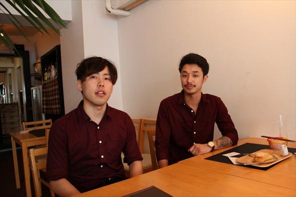 左:菅原拓也さん 右:国分昇大さん
