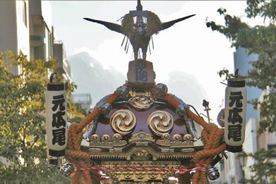 渋谷氷川神社例大祭2015 祭礼会「元広尾」に密着!初日広尾稲荷神社 前編