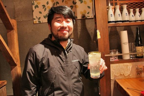 こちら恵比寿のDR.レモンサワーことknapの南師匠