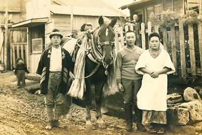 【第13回 恵比寿な人たち】夢にまで見たヱビスビールを運ぶ馬の写真がみつかる