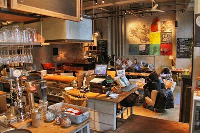 恵比寿西のちょっとはずれにある毎日が週末のカフェダイニング「WGT」
