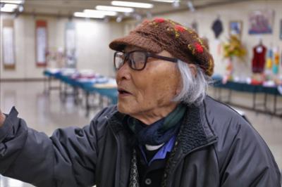 渋谷区シニアクラブの作品展で知り合った御年99歳の天才画家