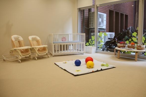 0歳児乳児室