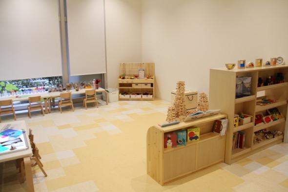 1歳児のほふく室