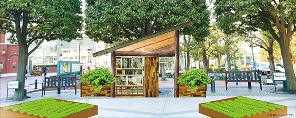 石渡さんがイメージした小屋「サスティナブルキャビン」