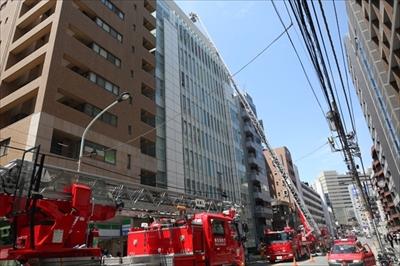 恵比寿Daiwa恵比寿4丁目ビルで火事