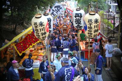 渋谷氷川神社例大祭特集「お神輿はみんなと神様を乗せて」丹後会宮入編