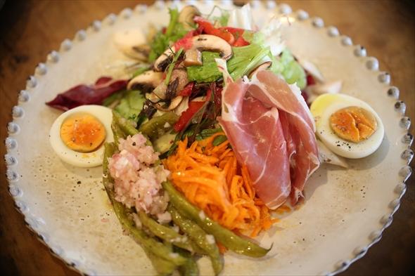 三浦野菜のサラダランチ 1200円