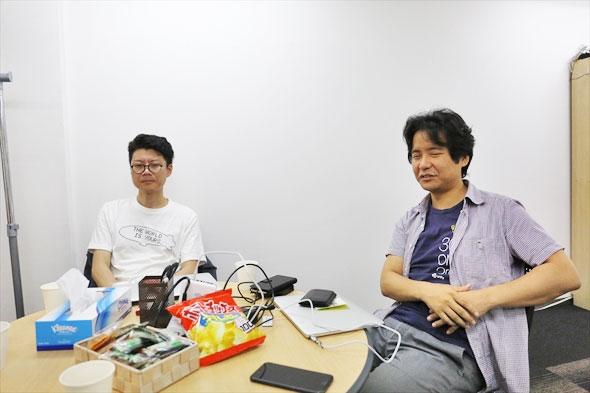 左が澤口さん 右が伊藤さん