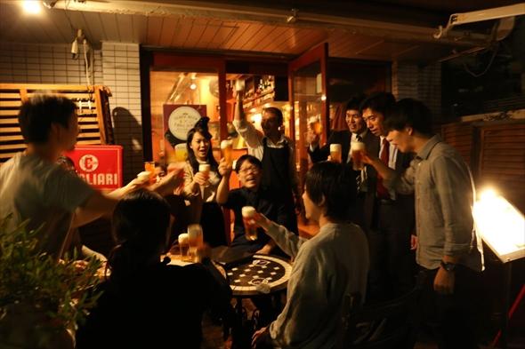 恵比寿の企業30社が参加する逸品グランプリ企業交流会を参加店で開催