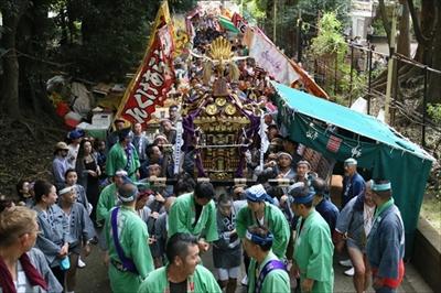 渋谷氷川神社例大祭連合一番基「氷川会」宮入編