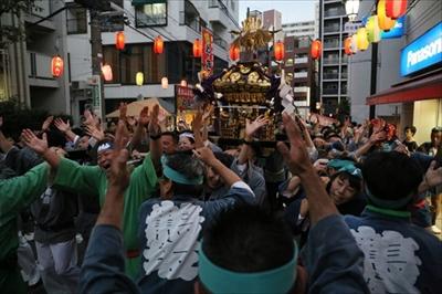 渋谷氷川神社例大祭連合一番基「氷川会」宵宮編